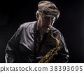 Sax Player 38393695