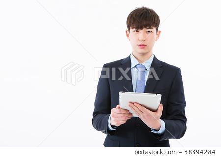 회사원, 신입사원, 비지니스 컨셉 포즈 38394284