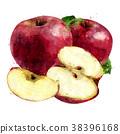 ผลไม้,สีแดง,แอปเปิล 38396168