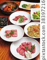 韓國菜 肉 肉的 38397216