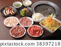韩国菜 肉 肉体 38397218