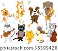 แมว,สุนัข,สุนัช 38399426