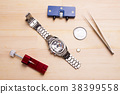 wrist watch, battery change, timepiece 38399558
