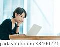 นักธุรกิจหญิงวัยกลางคน 38400221