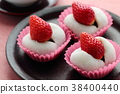 딸기 찹쌀떡 38400440