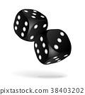 casino, chance, white 38403202