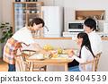 父母和小孩 親子 坐 38404539