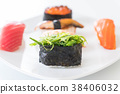 mixed sushi set 38406032