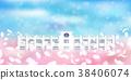 cherry, blossom, tree 38406074