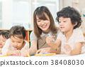 托儿所 学前班 儿童 38408030
