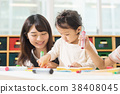 托儿所 学前班 幼儿园儿童 38408045