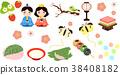 spring, event, set 38408182