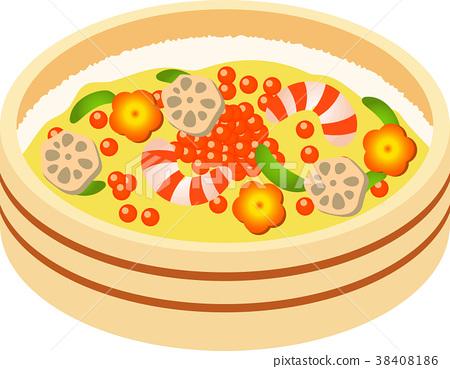 散寿司 日式料理 日本料理 38408186