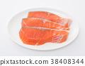 ปลาแซลมอน 38408344
