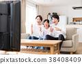 電視 家庭 家族 38408409