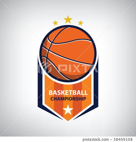 basketball championship logo 38409108