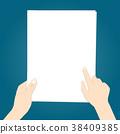 กระดาษ,ถือ,กอด ถือ 38409385