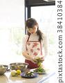 女人做饭 38410384