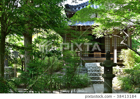 A place where Kamakura Nagetsu-in Hojo is when 38413184