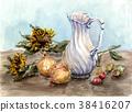 向日葵 洋蔥 大水罐 38416207