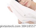 毛巾 人 人物 38416557
