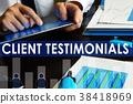 Client testimonials concept.   38418969