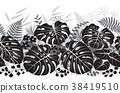 vector pattern monochrome 38419510