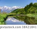 水稻 風景 堆 38421841