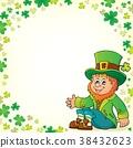 Sitting leprechaun theme image 5 38432623