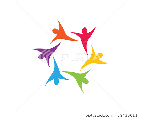 Community care Logo template 38436011