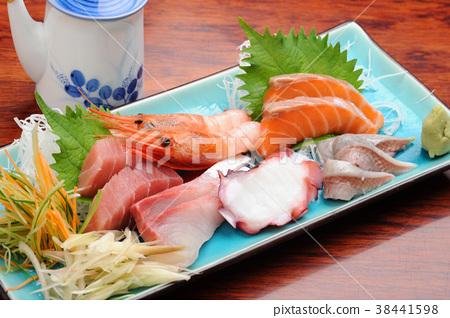 生魚片什錦酒館食物 38441598