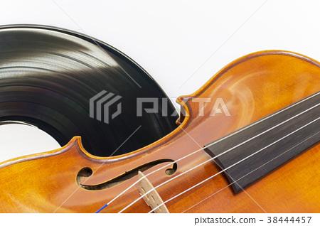 Violin and record board 38444457