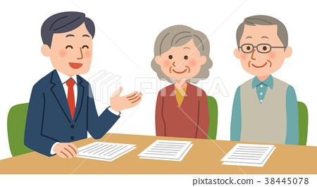已婚夫婦接受諮詢 38445078