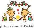 일러스트, 성탄절, 기념일 38452444