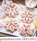 面包 小甜面包 丹麦甜糕饼 38453451