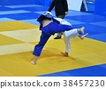 Girls compete in Judo 38457230