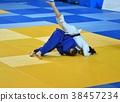 Girls compete in Judo 38457234