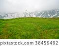 다테야마, 산, 잔설 38459492