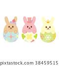 復活節 兔子 兔 38459515