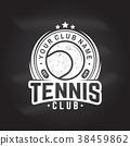 vector tennis illustration 38459862