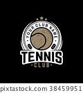 vector tennis illustration 38459951