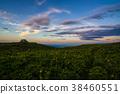 mt. ibukisan, mountain, sunset 38460551
