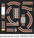 railroad, railway, road 38464384