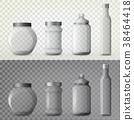 Jar or glass bottles for spice or seasoning 38464418