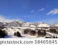 풍경, 경치, 스키장 38465645