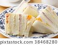 샌드위치, 빵, 식빵 38468280