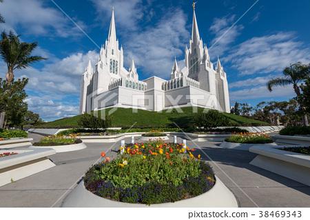 白色教會在聖地亞哥,美國 38469343