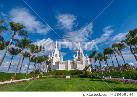 White Church in San Diego, USA 38469344