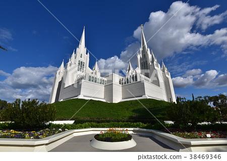 白色教會在聖地亞哥,美國 38469346
