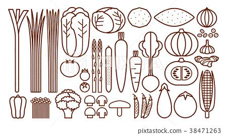 蔬菜 食品 原料 38471263